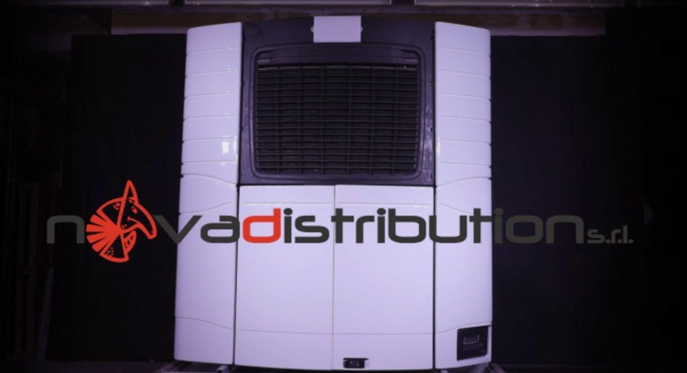 Presentazione sportelli per Carrier Transicold Vector© in plastica